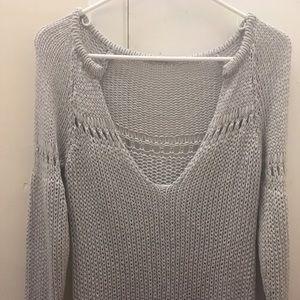Brandy Melville steel grey sweater (like new)
